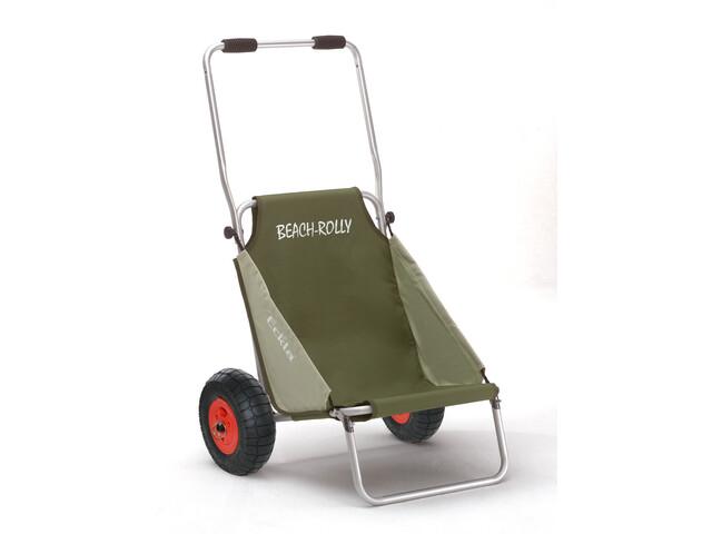 Eckla Beach-Rolly avec roues anti-crevaison, olivgreen